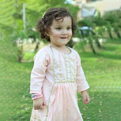ethnic gota shirt for girls by lilchamps
